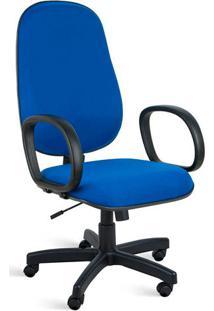 Cadeira De Escritório Clio Presidente Giratória Azul