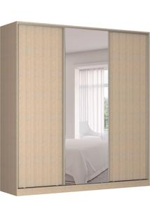 Guarda-Roupa Casal Com Espelho Tunas V 3 Pt 3 Gv Noce