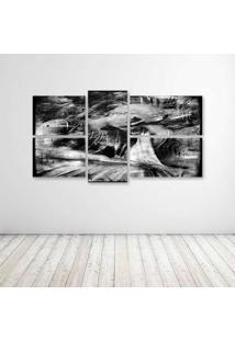 Quadro Decorativo - Black White - Composto De 5 Quadros - Multicolorido - Dafiti