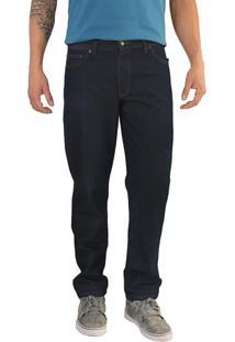 Calça Jeans Versatti Reta Básica Azul