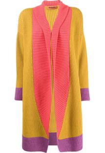 Missoni Cardigan Color Block - Amarelo