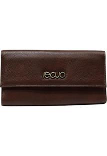 Carteira De Couro Recuo Fashion Bag Castor