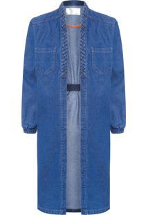 Casaco Feminino Phoenix Jeans - Azul