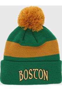 Gorro New Era Boston Celtics Verde/Amarelo