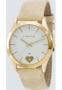 Kit Relógio Feminino Lince Lrc4452L Kt56B1Tx Anológico 3Atm