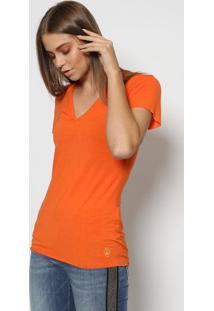 Camiseta Lisa - Laranja - Tritontriton