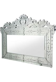 Espelho Veneziano Luis Cor Prata 1,20 Mt (Larg) - 34309 - Sun House
