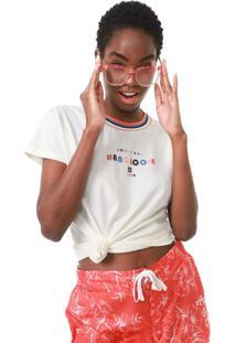 Camiseta Hang Loose Hang Collors Off-White