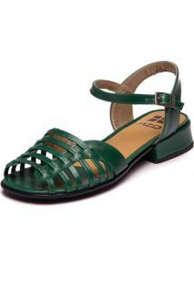 Sandalia Mzq Verde Esmeralda - 7725