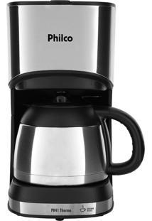 Cafeteira Thermo Preto/Prata Philco 127V Ph41