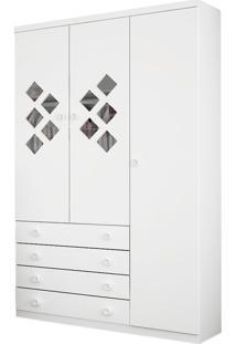 Armário 3 Portas, Branco, Pirulito