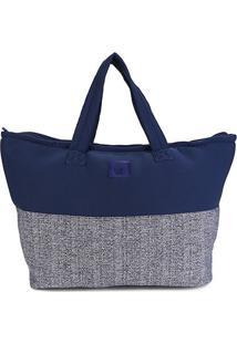 Bolsa Petite Jolie Shopper Wahine Feminina - Feminino-Azul