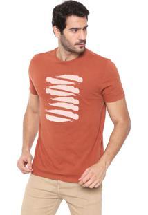 Camiseta Aramis Pinceladas Caramelo