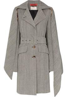 Ronald Van Der Kemp Trench Coat Clássico - Preto