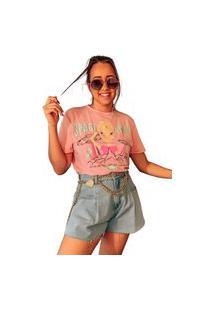 Body Feminino Estampado Camiseta Et Bloguerinha