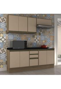 Cozinha Completa 4 Peças 8 Portas Safira Siena Móveis