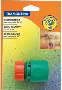 "Engate Rapido Para Mangueira 1/2"" Com Aquastop - Tramontina - Tramontina"