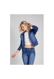Jaqueta Jeans Osmoze Sport 214123055 Azul