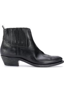 Golden Goose Ankle Boot Slip On - Preto