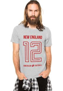 Camiseta Rgx New England American Football Cinza