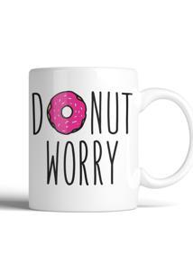 Caneca Decohouse Donut Preto