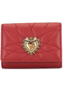 Dolce & Gabbana Carteira 'Sacred Heart' - Vermelho