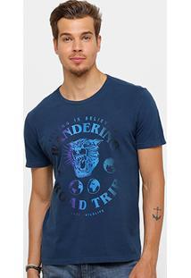 Camiseta Ellus Stone Tiger Color Masculina - Masculino