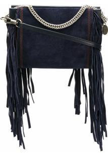 Givenchy Bolsa Transversal 'Cross3' De Couro - Azul