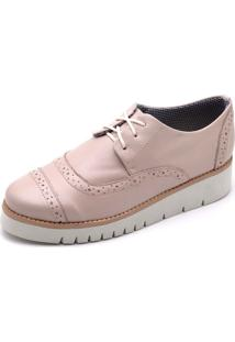 Oxford Top Franca Shoes Casual Nude