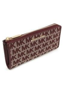 Carteira Michael Kors Jet Set Travel Lg 35F9Gtvz3J610