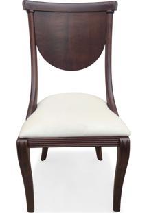 Cadeira Viena Madeira Maciça Design Italiano