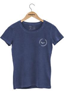 Camiseta Forseti Estonada Enviroment Azul - Kanui