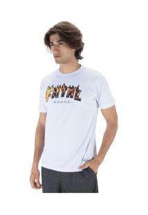 Camiseta Fatal Estampada 22167 - Masculina - Branco