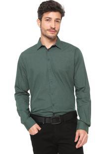 Camisa Forum Reta Smart Verde