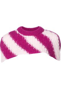 Calvin Klein 205W39Nyc Suéter Decote V - Rosa