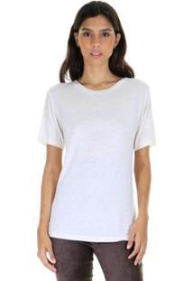 Camiseta Malha Lisa G Aha Feminina - Feminino