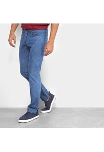 Calça Jeans Reta Rockblue Básica Tradicional Masculina - Masculino