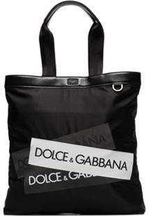 Dolce & Gabbana Bolsa Tote Volcano - Preto