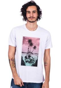 Camiseta Long Island Beach Masculina - Masculino