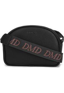 Bolsa Dumound Shoulder Bag Feminina - Feminino-Preto