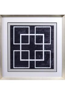 Quadro Decorativo Indigo And White Iv