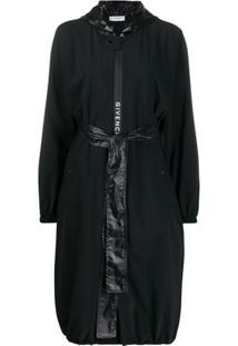 Givenchy Jaqueta Impermeável Com Capuz - Preto