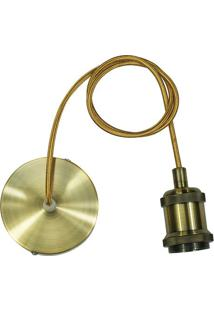 Pendente Campbell- Ouro Velho- 150Cm- Bivolthevvy