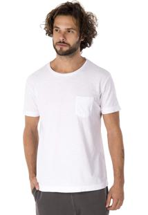 Camiseta Side Walk Camiseta Flame Canguru Branco