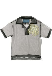 Viktor & Rolf Camisa Polo 'Not Just A Polo. Icon 1.2' - Preto