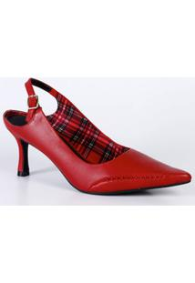 Scarpin Feminino Chanel Bico Fino Ramarim 1826101