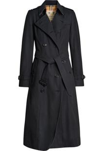 Burberry Trench Coat The Chelsea Logo - Azul