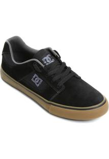 Tênis Dc Shoes Bridge - Masculino-Preto+Bege