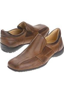 Sapato Sandro Moscoloni Banta Slip Conhaque
