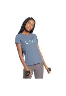 Camiseta Live Basic Holographic